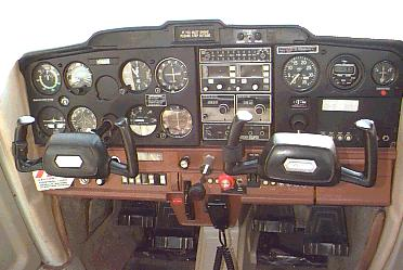 The Instrument Panel of a Cessna 152